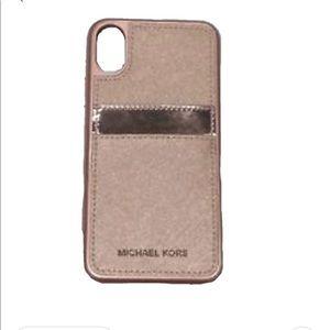 NIP Michael Kors Rosegold Samsung Phone Case